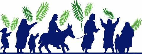Palm Sunday Family Service on 25th March at 10.30